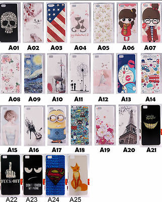 Cover Case For Huawei Ascend P8 mini Lite Flag Rose Cat Fox Skull Minions Tower