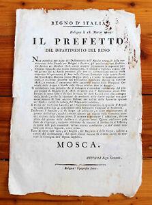 18-MARZO-1809-BOLOGNA-DIPARTIMENTO-DEL-RENO-MANUTENZIONE-STRADE