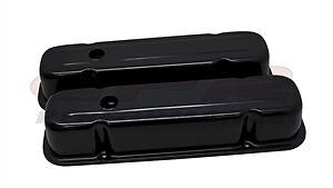 /'59-/'81 Pontiac V8 Short Chrome Steel Valve Covers 301 350 389 400 421 428 455