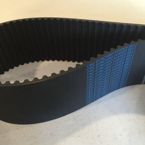 D/&D PowerDrive 1552-8M-50 Timing Belt Rubber