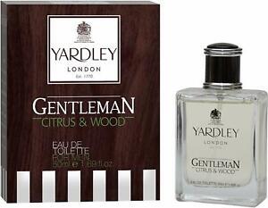 YARDLEY-LONDON-Gentleman-Citrus-und-Wood-Eau-de-Toilette-fuer-Maenner-50ml-amp-100ml