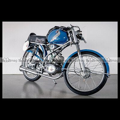 #phm.00629 Photo Maserati 1960 Tipo 50 T2 Ss 'rospo' Moto Motorcycle Te Koop