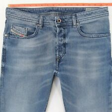 DIESEL BUSTER 0853V W32 L32 Mens Denim Jeans Regular Fit Straight