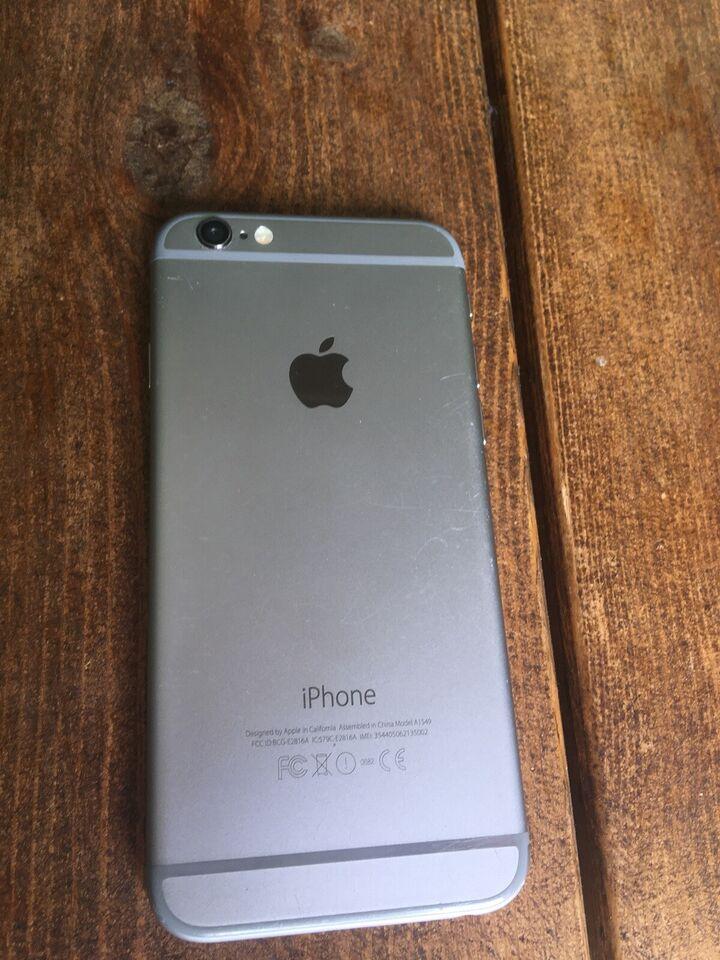 iPhone 6, 16 GB, grå