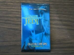 1999-Star-Wars-Young-Jedi-Decipher-Unopen-Booster-Pack-English-11-cards