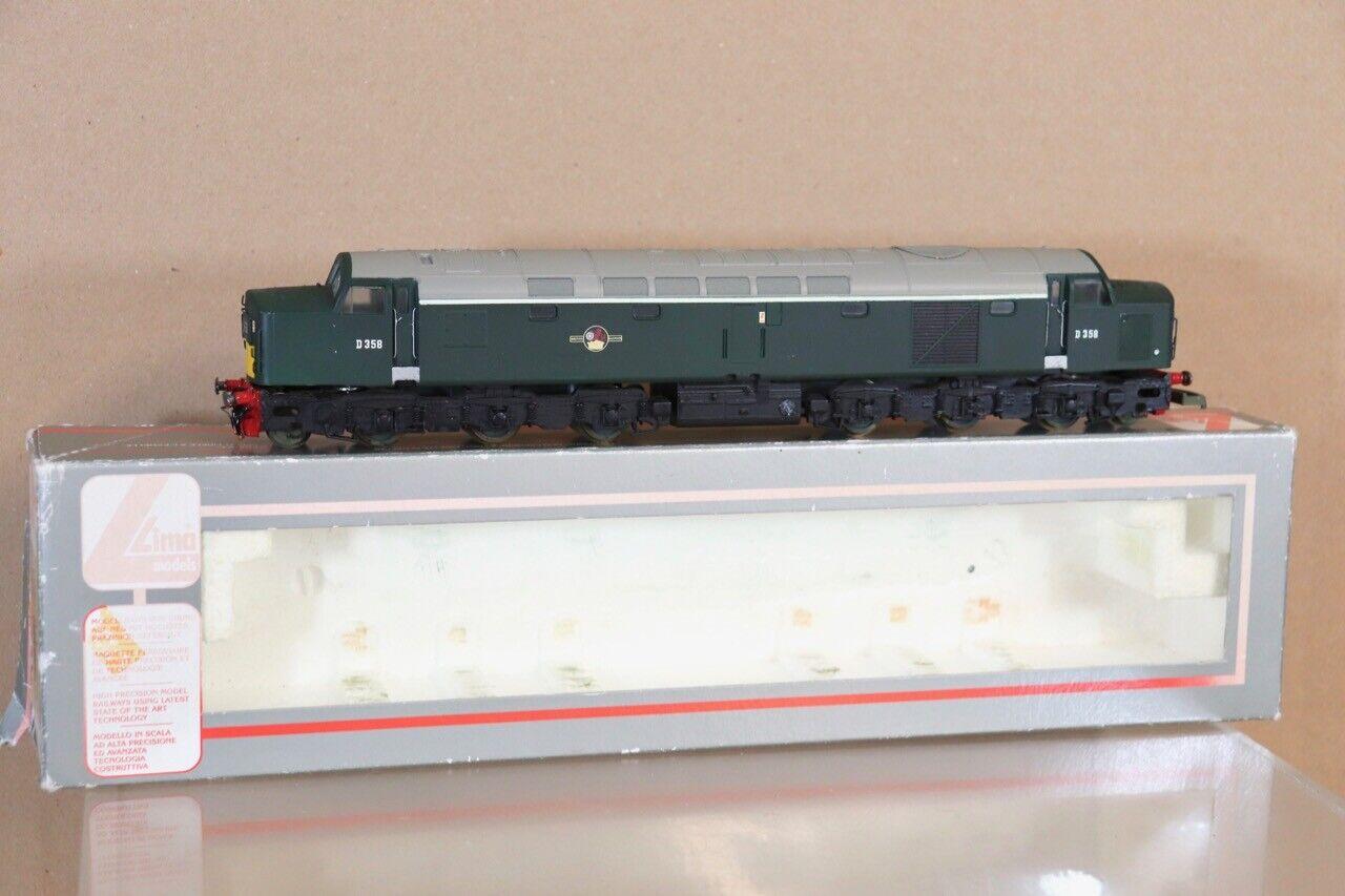 LIMA 205217 RE PAINTED BR verde PEAK classe 40 DIESEL LOCOMOTIVE D358 nv