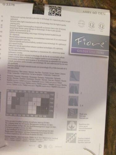 FIORE ABBY DESIGNER 3D MICROFIBER TIGHTS COLOR IS GRAPHITE SIZE MEDIUM