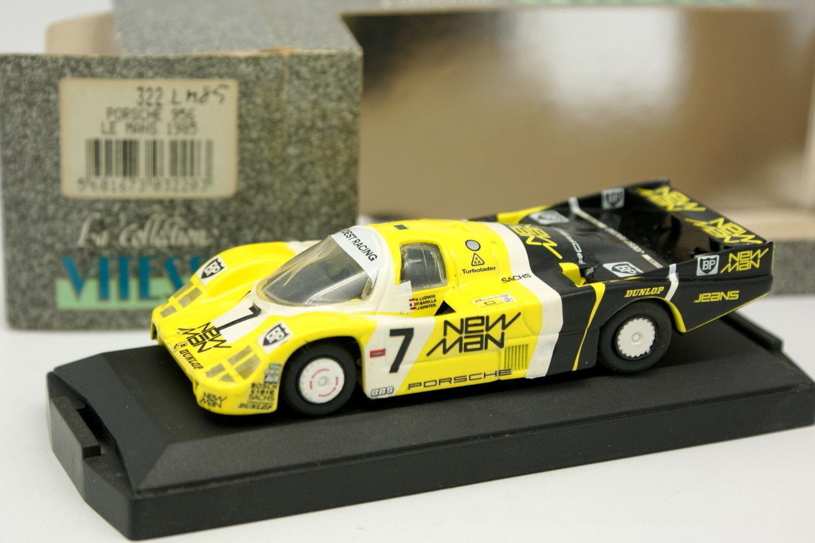 Vitesse 1 1 1 43 - Porsche 956 Nuovo Man No.7 Le Mans 1985 74ac14