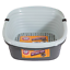 Large Litter Pan Self Sifting Box 3 Part System Clean Slotted Tray for Pet Cat