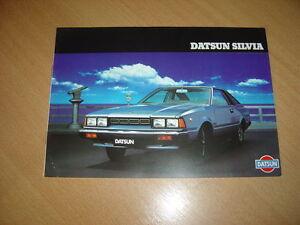 CATALOGO-Datsun-Silvia-de-1981