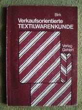 Verkaufsorientierte Textilwarenkunde Lehrbuch Textilien Baumwolle Seide Webwaren