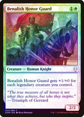 Benalish Honor Guard FOIL Dominaria NM-M White Common MAGIC MTG CARD ABUGames