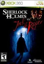 Sherlock Holmes vs. Jack the Ripper (Microsoft Xbox 360, 2010) VERY GOOD