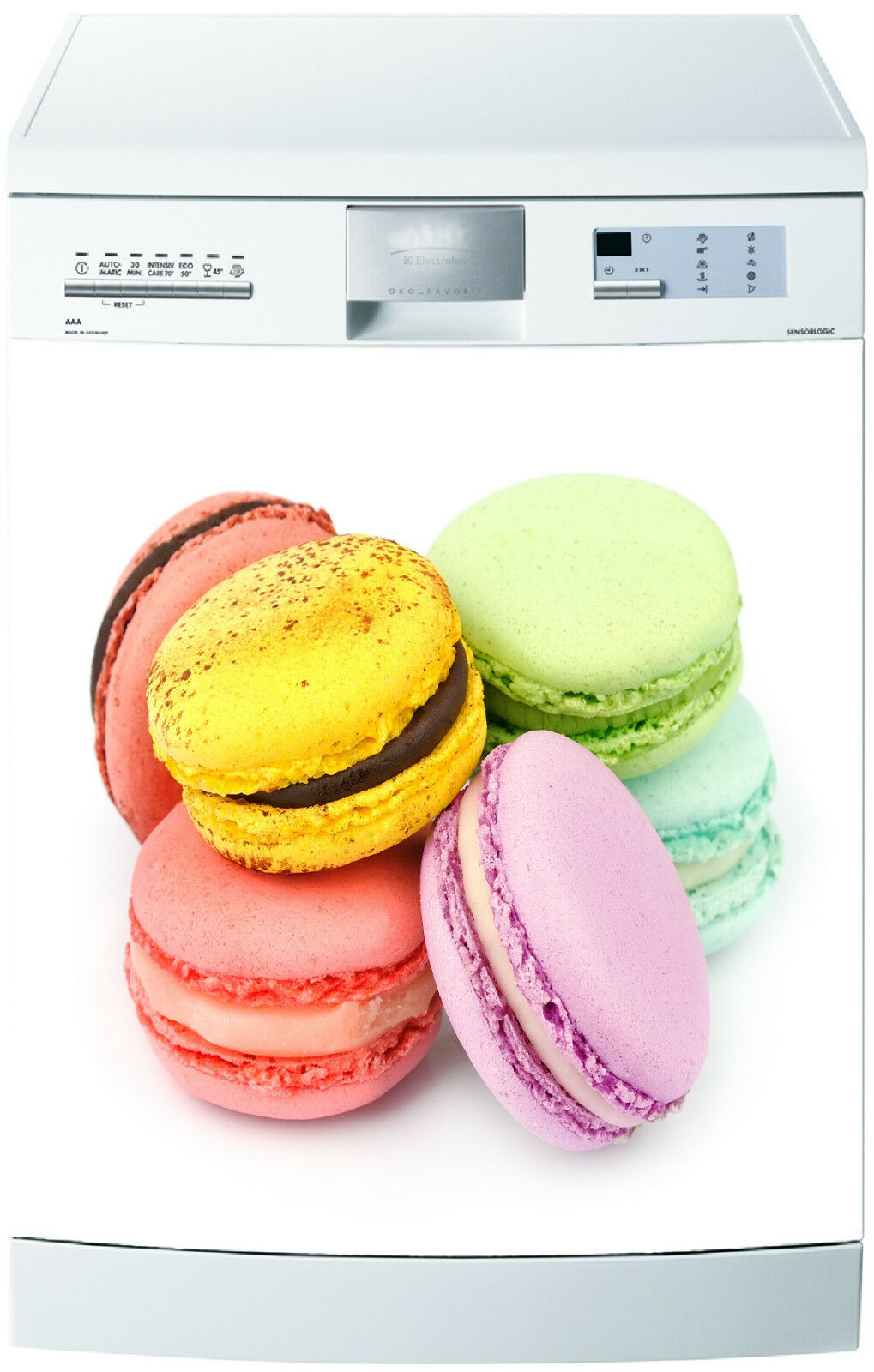 Adesivo Lavastoviglie Decocrazione Cucina Elettrodomestici Macaron 700 60x60cm