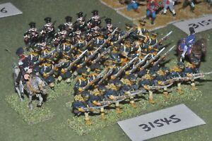 25 mm napoléonien / prussien - Landwher 42 figures Inf (31545)