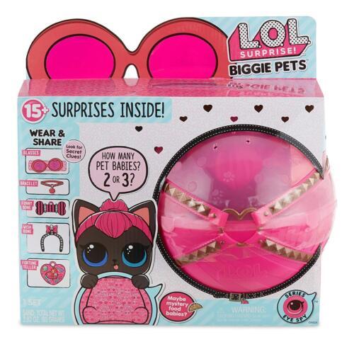 Spicy Kitty * LOL pets doll Surprise ball * Rare Surprise L.O.L Biggie Pet