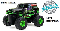 Grave Digger Monster Truck 4x4 Radio Rc Remote Control Cars Boys Toys Xmas Gift