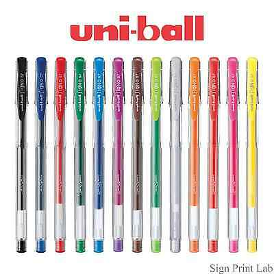 5 X Uni-Ball Eye Style à Bille Couleur Corps Ub-157 Couleurs Assorties 0.7 Point
