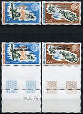 Space Raumfahrt 1975 Madagascar Apollo Soyuz 753-754 + Probedrucke MNH/1188