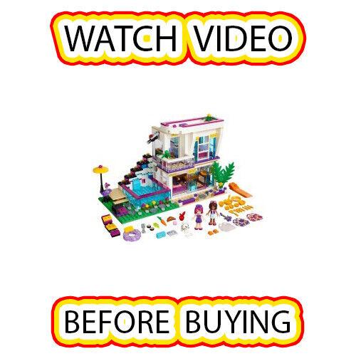 Lego LĪVI'S POP  STAR HOUSE Set  41135 amis  très populaire