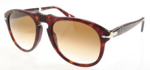 88511f511f4e Persol 649-S Sunglasses Havana Brown 2451 Authentic New Large Size ...