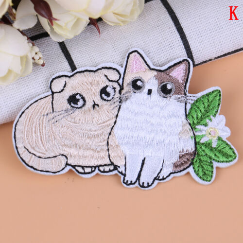 Cat patch baby clothing patch backpack decoration small applique iron on patchFO