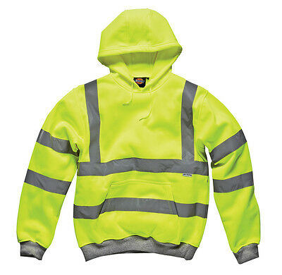 Sonderabschnitt Dickies Hi Vis Hi Viz Hoodie Sweatshirt Jumper Go/rt Railway Work Two Tone