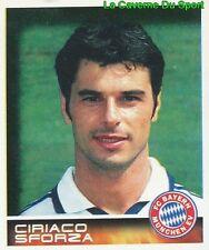 338 CIRIACO SFORZA SWITZERLAND FC BAYERN MÜNCHEN STICKER BUNDESLIGA 2001 PANINI