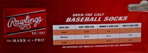 Rawlings Youth Blue Baseball Belt /& Sock Combo Pack Size Choose Small or Medium