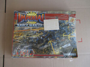 D11C08 IMPERIAL SPACE MARINE ROGUE TRADER RTB01 WARHAMMER 40000 (1987) SEALED