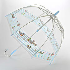 Cath Kidston Birdcage Clear Dome Ladies Umbrella - Ducks in a Row