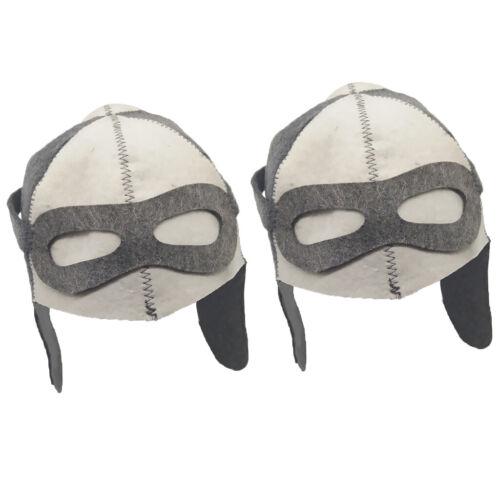 2x Hat for Sauna Banya Bath House Head Protection Embroidered Unisex #10