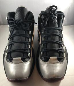 Reebok-Question-Mid-A5-Allen-Iverson-Jadakiss-Shoes-Black-Mens-BD4152-Size-7-5