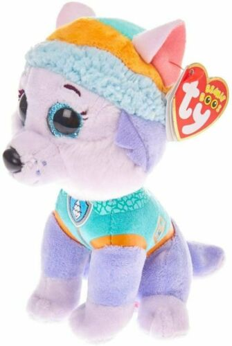 Multi-Coloured Ty Pat/' Patrol Small-Everest TY41300 Soft Toy