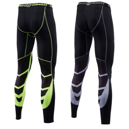Mens Boys Thermal Compression Tights Base Layer Running Gym Trousers Sports