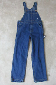 e8b69fe4e10 Image is loading VINTAGE-Tommy-Hilfiger-Overalls-Adult-Small-Blue-Jean-
