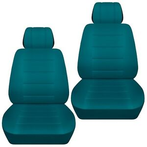 Fits-2013-2018-Toyota-Corolla-front-set-car-seat-covers-teal
