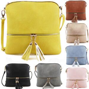 Ladies-Cross-Body-Messenger-Bag-Women-Shoulder-Bags-Tote-Satchel-Handbag