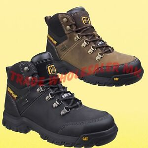 d8ad70c40a8 Details about CATERPILLAR FRAMEWORK SAFETY WORK BOOTS CAT STEEL TOE CAP  WATER RESISTANT
