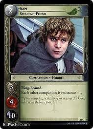 Lord of the Rings CCG Shadows 11U172 Sam Steadfast Friend X2 LOTR TCG