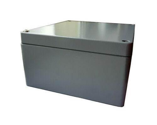 Rose Standard Alu-Gehäuse grau 220 x 200 x 110mm IP66 10000008821 AB 109705