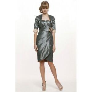JADORE-SD105-Gunmetal-Dress-CLEARANCE-BNWT