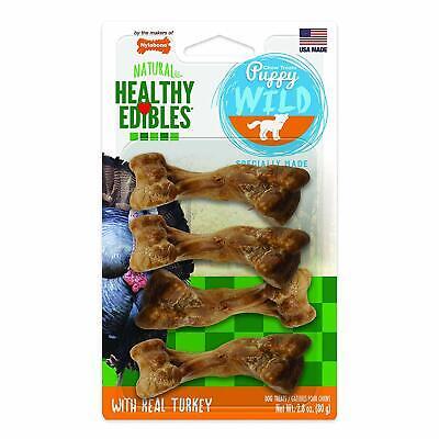 Nylabone Healthy Edibles Puppy Chew Treats Treats Bones ghdonat.com