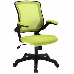 Image Is Loading Modway Veer Office Chair With Mesh Back And