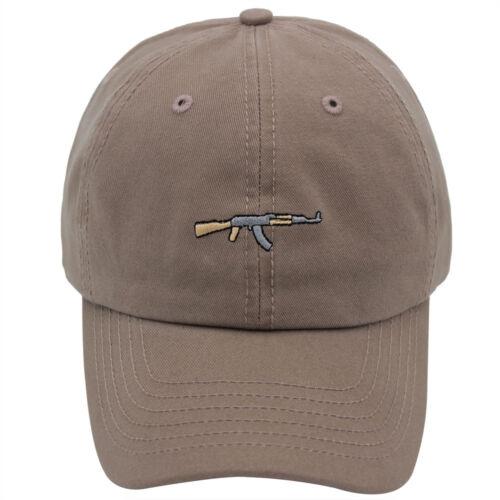 AK47 Hat Adjustable Dad Hat Cap 100/% Cotton Unisex Kalashnikov