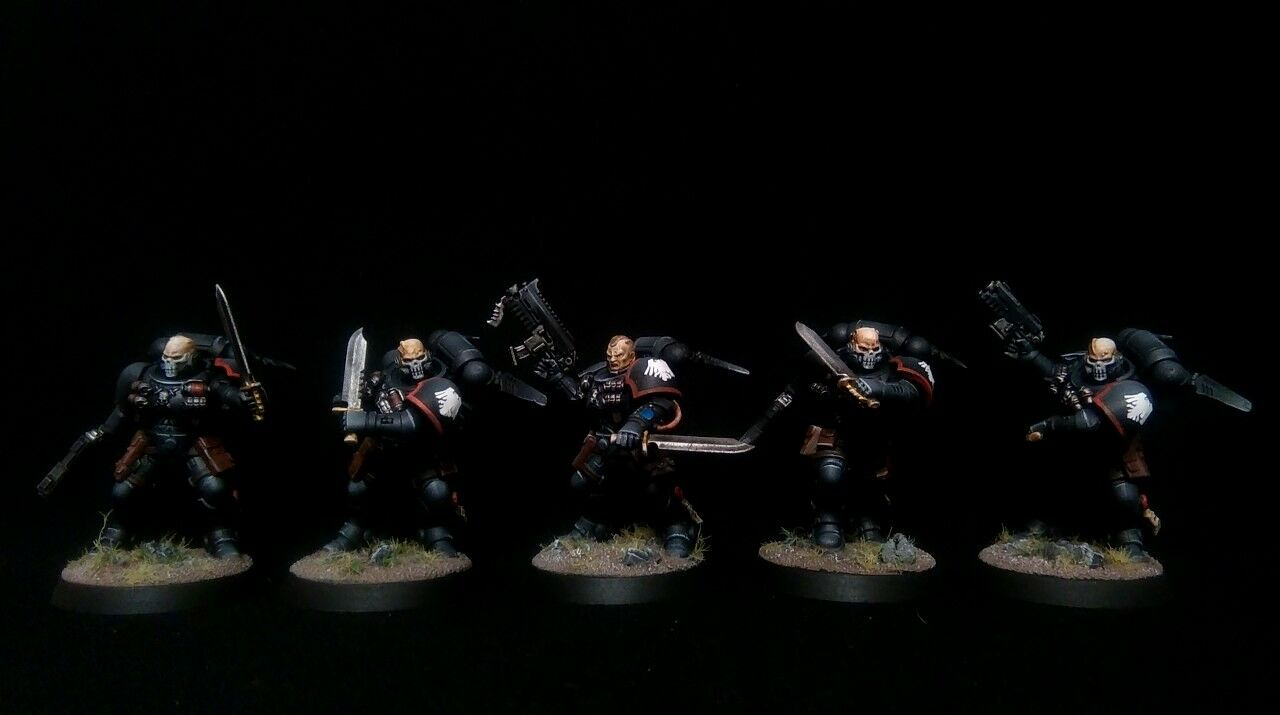 PRO-PAINTED Primaris Space Space Space Marines Reivers Squad Kill Team COMMISSION 10 models 4182c9