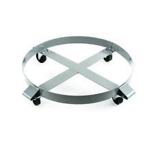 Drum Dolly 1000 Lb 55 Gallon W Swivel Casters Heavy Duty Steel Frame X 1
