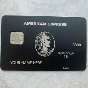 Customizable-2020-Newest-Amex-Express-Black-Metal-Finish-Card-American-Centurion