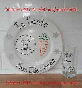 Christmas-Eve-Plate-Decals-Personalised-Santa-Plate-Stickers-Only