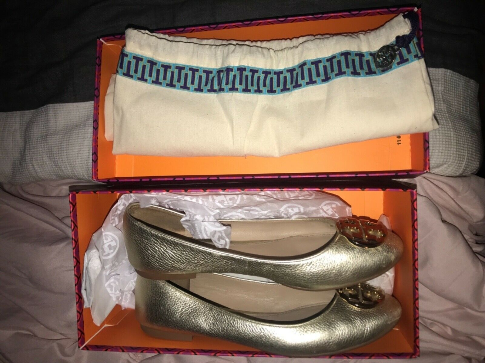 Tory Burch Claire Ballerina Flat - image 6